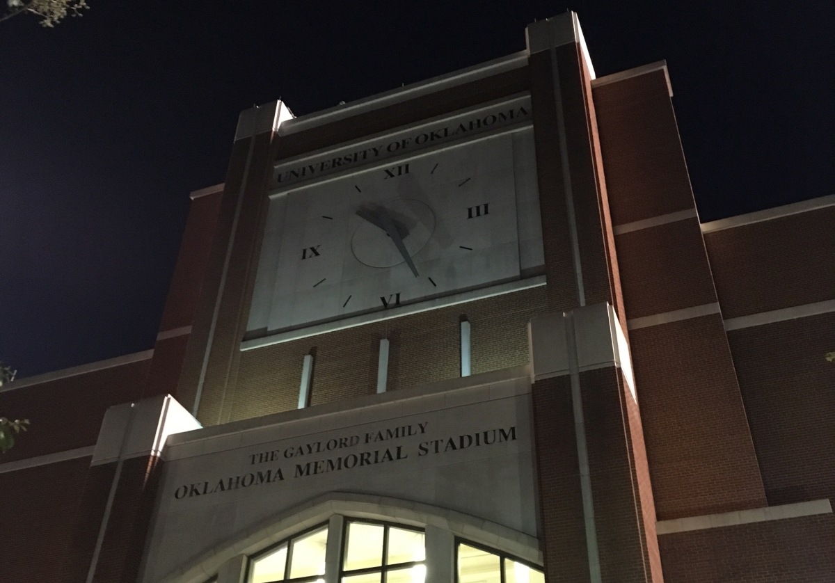 Oklahoma Memorial Stadium Changes (2019 Edition)
