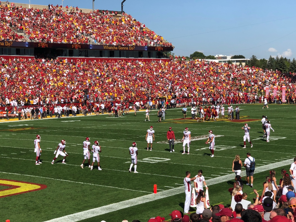 Delay of Recap: Iowa State